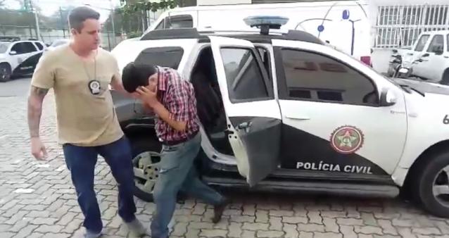 Engenheiro da Petrobras sendo preso por pedofilia