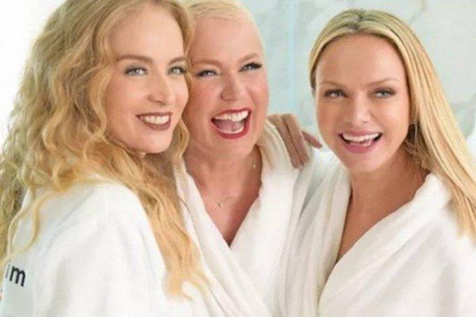 Campanha publicitária reuniu as três apresentadoras