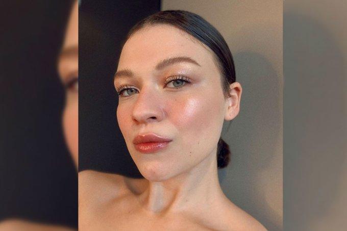Maquiagem glossy
