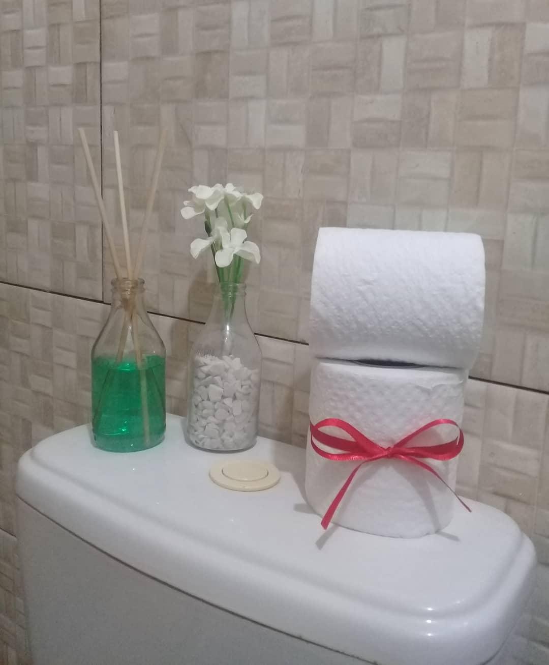 Enfeites de banheiro