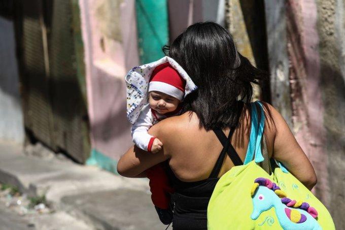 Mãe venezuelana