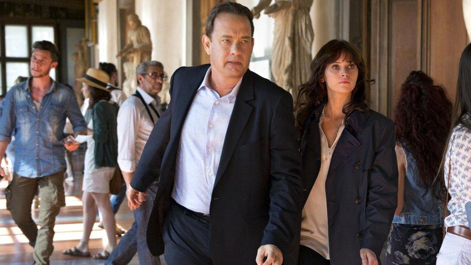 <strong>Inferno (estreia em 15/09): </strong>Fugindo de uma assassina profissional e com amnésia, o professor Robert Langdon precisa decifrar pistas para deter uma praga que ameaça a humanidade. Com Tom Hanks e Felicity Jones, o filme é baseado no best-seller homônimo de Dan Brown.