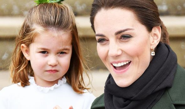 kate middleton e charlotte