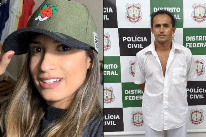 Leticia  Sousa Curado foi morta pelo cozinheiro Marinésio dos Santos Olinto
