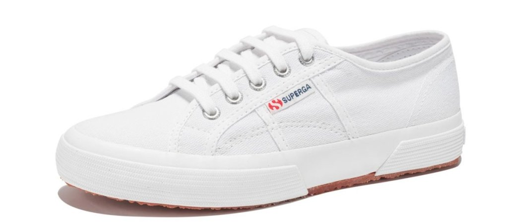 Tênis Superga, usado por Kate Middleton