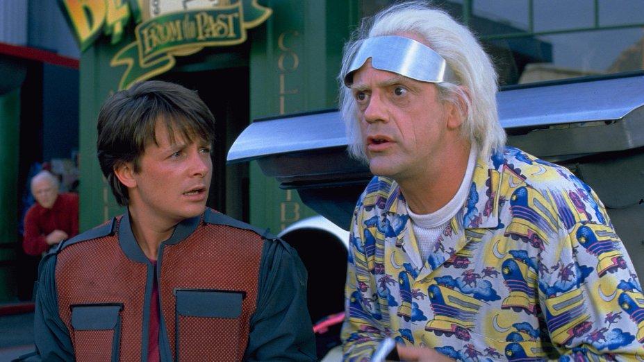 <strong>De volta para o futuro II (estreia em 11/10/2019): </strong>Marty e Doc estão juntos de novo nesta sequência do sucesso de 1985 como a dupla que agora viaja para 2015 para resolver alguns problemas da família McFly.
