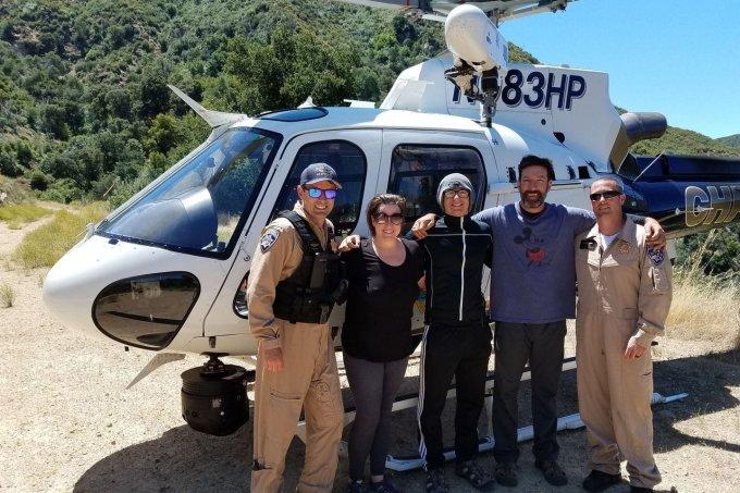 família resgatada