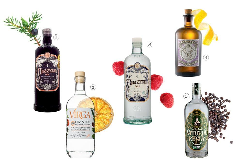 Seleção de gins