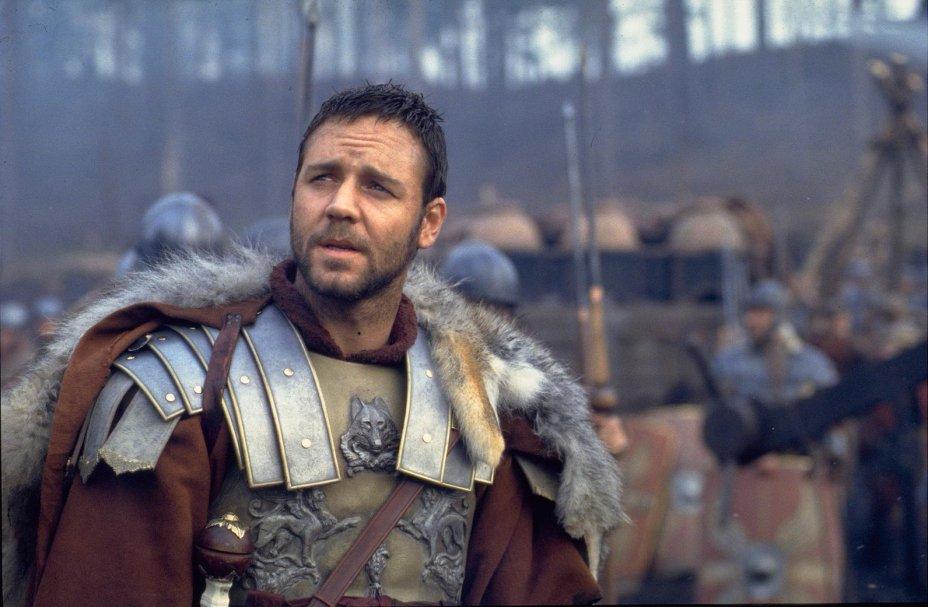 <strong>Gladiador (estreia em 11/10/2019): </strong>Um general romano é indicado ao trono após a morte do imperador, mas acaba condenado à morte pelo ambicioso filho do falecido monarca. Com Russell Crowe.