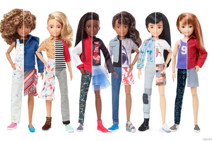 Mattel linha de bonecos sem gênero