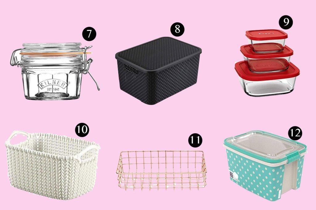 18 itens de organização para ajudar na sua casa