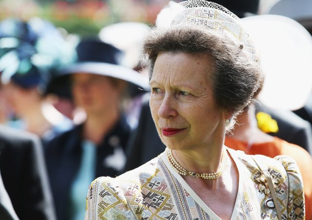 Princesa Anne, filha da Rainha Elizabeth