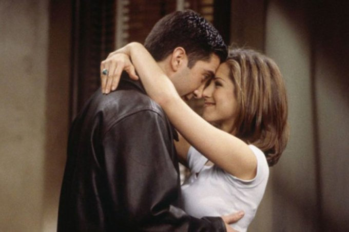 Ross e Rachel, de Friends