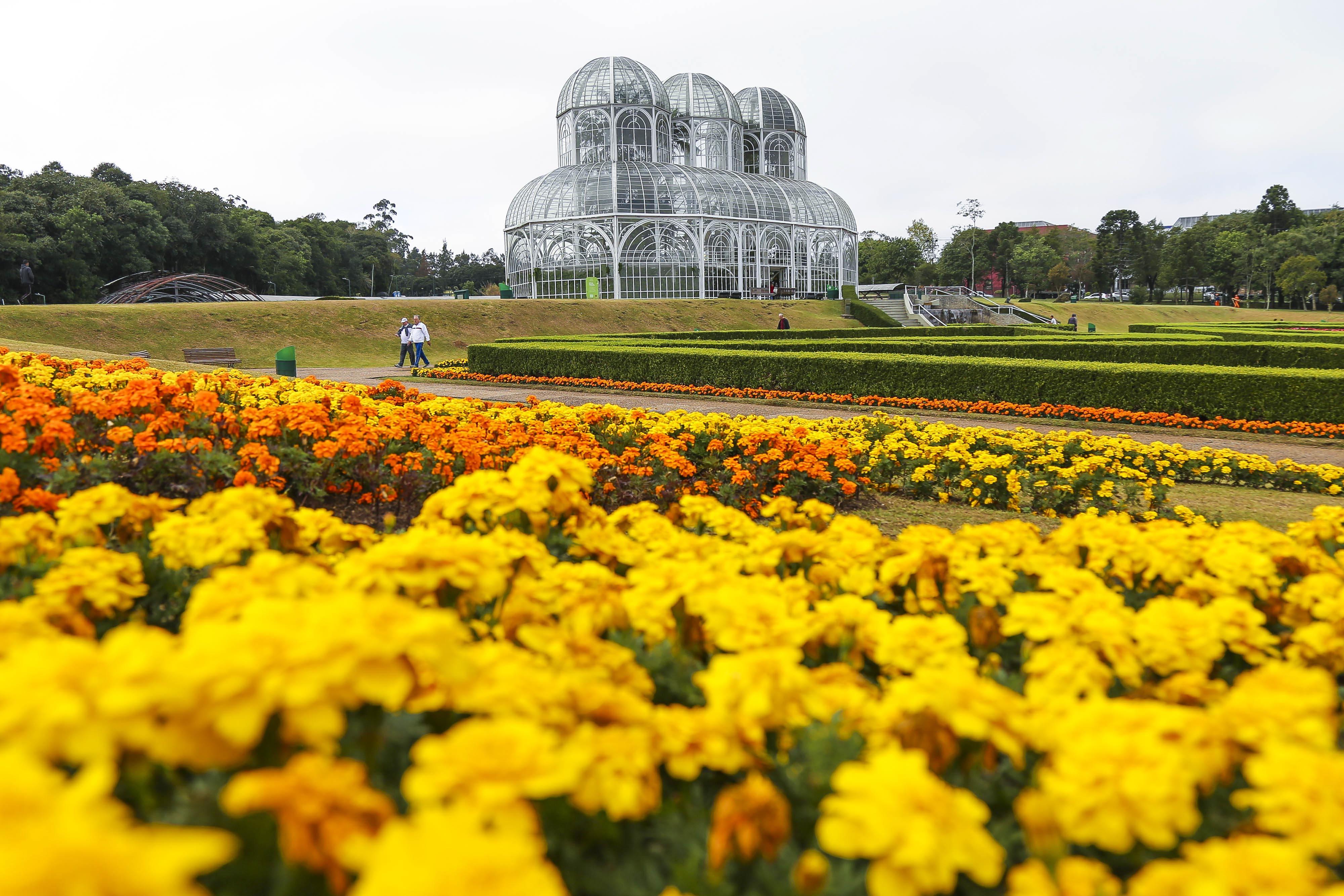 Jardim Botânico. Curitiba, Paraná.