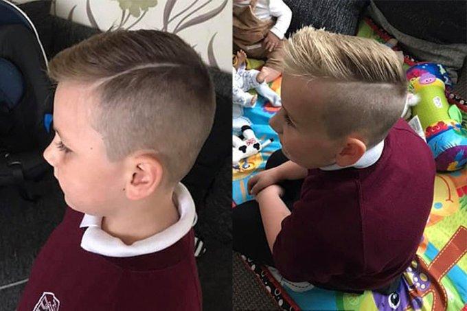 Crianças são banidas de escola por causa de corte de cabelo
