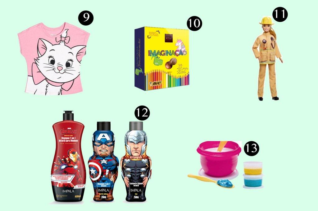 13 inspirações de presentes para o Dia das Crianças