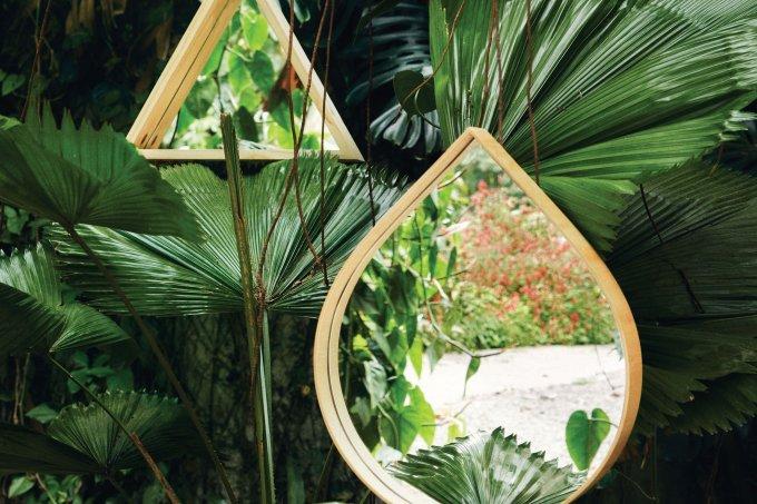 Espelhos dão amplidão ao ambiente