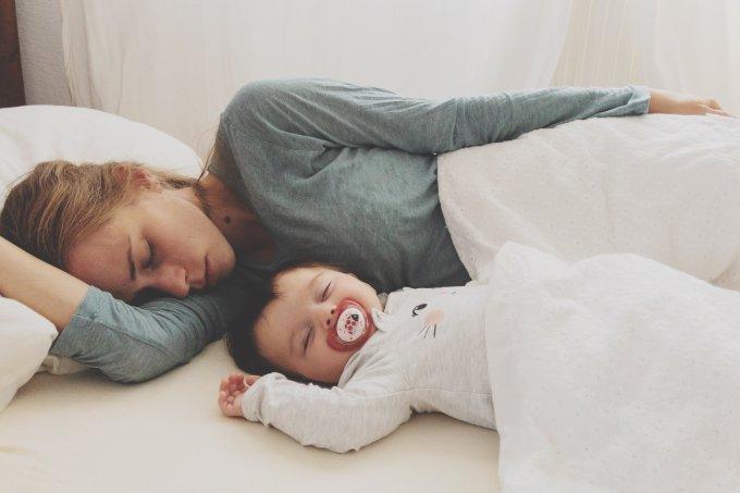 Sono dos pais só se recupera 6 anos após o parto
