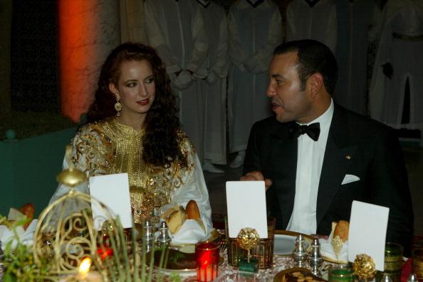 Princesa Lalla Salma e Rei Mohammed VI