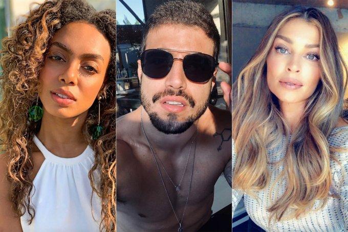 Dandara Mariana, Caio Castro e Grazi Massafera