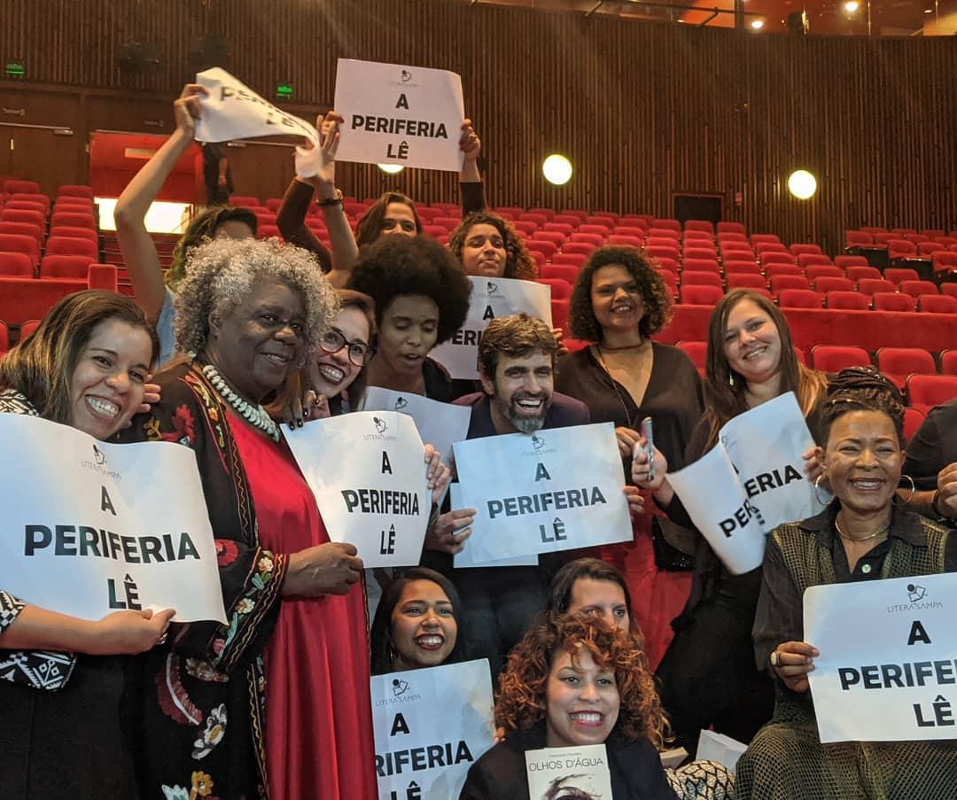 Conceição Evaristo no Prêmio Jabuti
