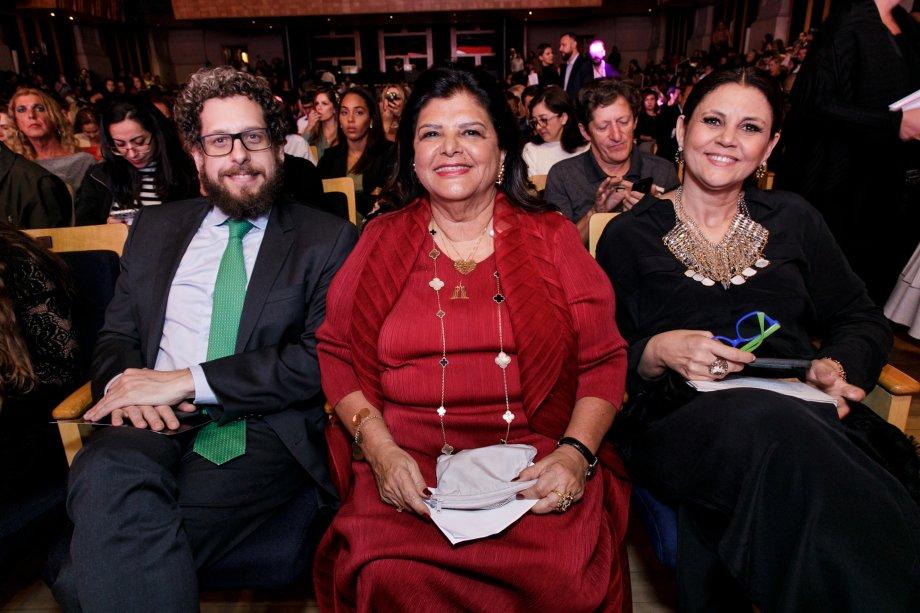 Fabio Carvalho, Luiza Helena Trajano e Guta Nascimento