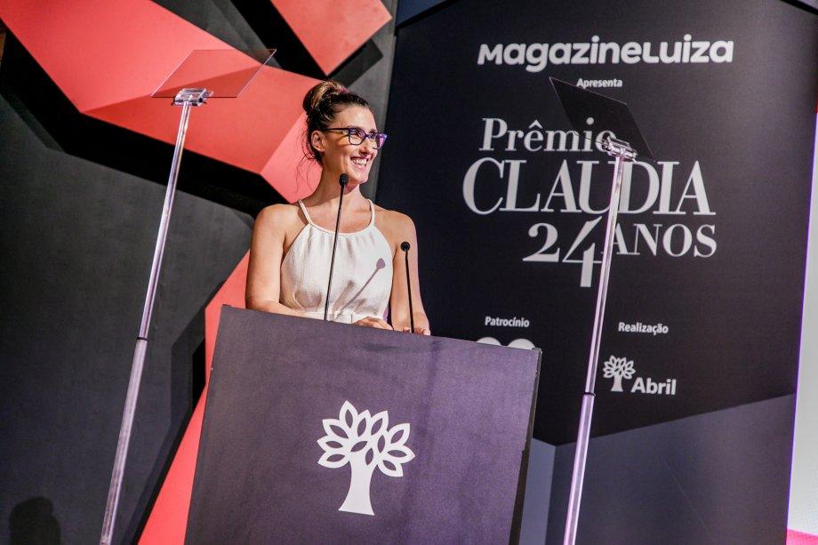 Paola Carosella foi a responsável por conduzir a cerimônia