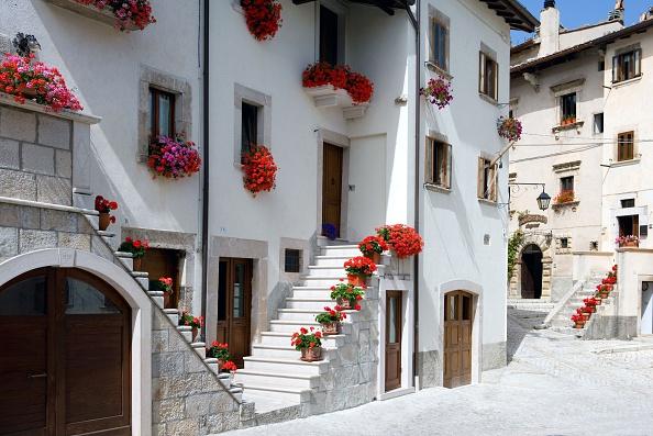 Pescocostanzo, em Abruzzo, na Itália