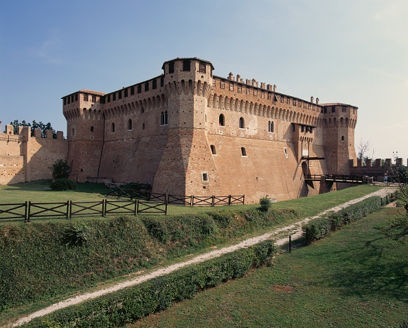Castelo de Gradara, na Itália