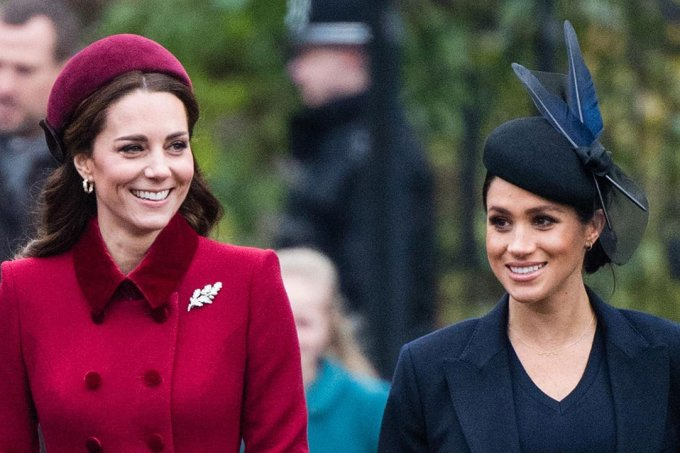 Kate Middleton e Megha Markle