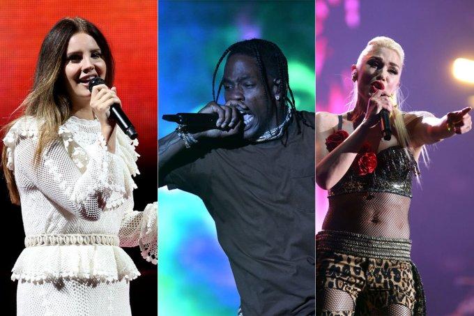 Lana Del Rey, Travis Scott e Gwen Stefani são alguns dos destaques do Lollapalooza 2020
