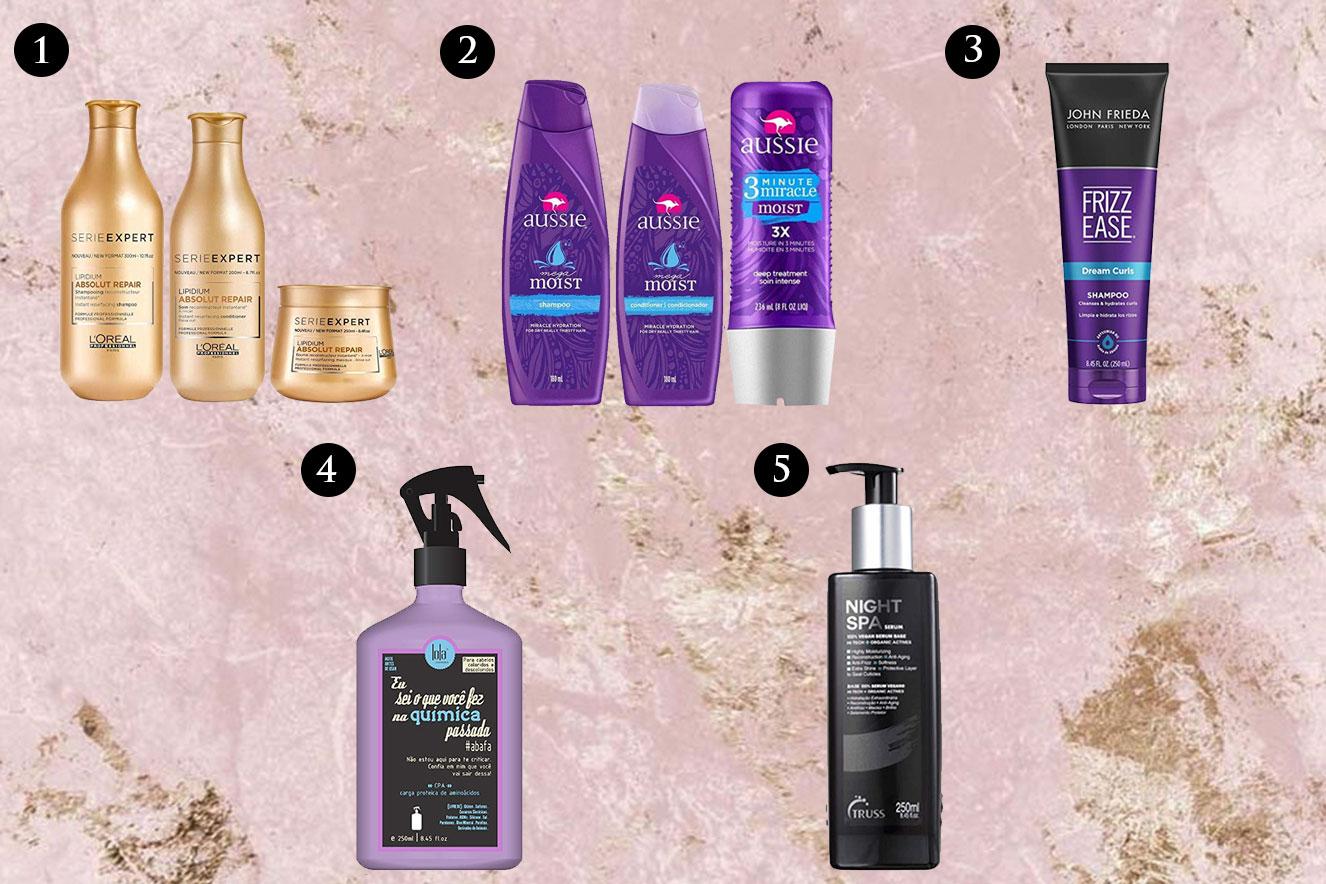 Produtos para cabelo em promoção