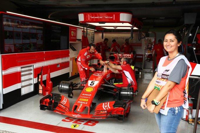 Rachel Loh, engenheira mecânica e integrante da comissão técnica do GP Brasil