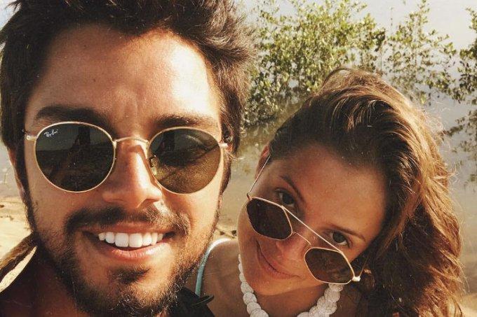 Rodrigo Simas e Agatha Moreira