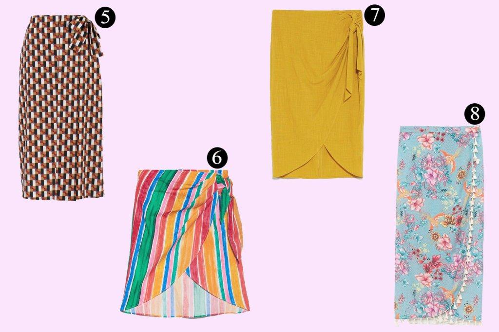Alerta tendência: saiba como usar a saia pareô