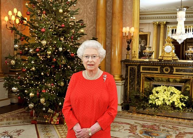 Rainha Elizabeth II Natal