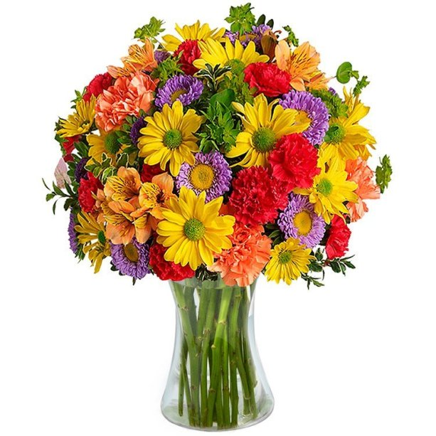 "Arranjo flores silvestres em vaso de vidro. <a href=""https://www.cestasmichelli.com.br/luxuoso-mix-de-flores-silvestres/p24910/?src=cross_sell_produtos_semelhantes"" target=""_blank"" rel=""noopener"">Cestas Michelli</a>, R$ 229,90"