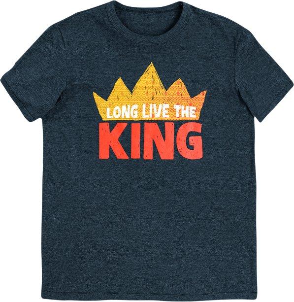 Camiseta Infantil Manga Curta Com Estampa - Rei Leão - Cinza, R$ 39,99 - Hering
