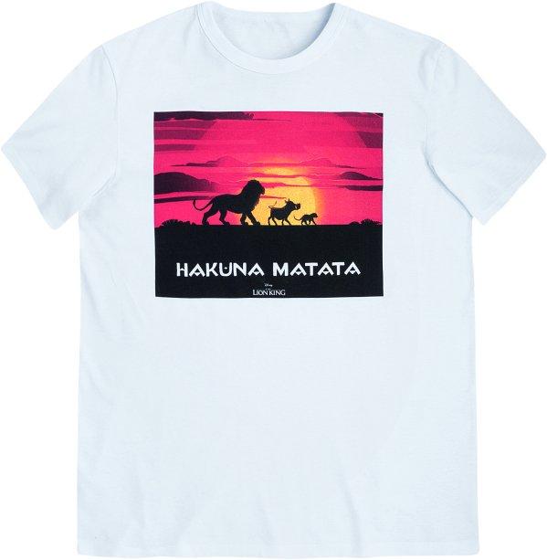 Camiseta Masculina Manga Curta Com Estampa - Rei Leão - Off White, R$ 49,99 - Hering