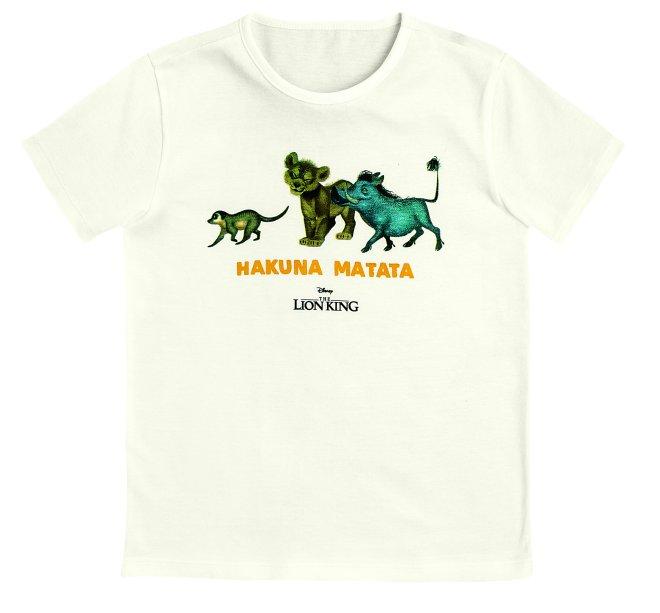 Pijama Curto Masculino Com Camiseta E Bermuda - Rei Leão - Off White, R$ 99,99 - Hering