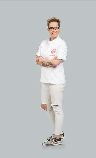 Angélica Vitali se especializou em<span>Portugal e na Espanha, onde trabalhou com o chef Ferran Adriá, mestre da gastronomia molecular.</span>