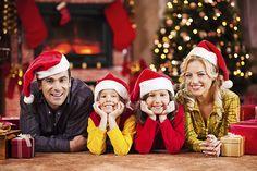 Ideias criativas para fotos em família no final do ano