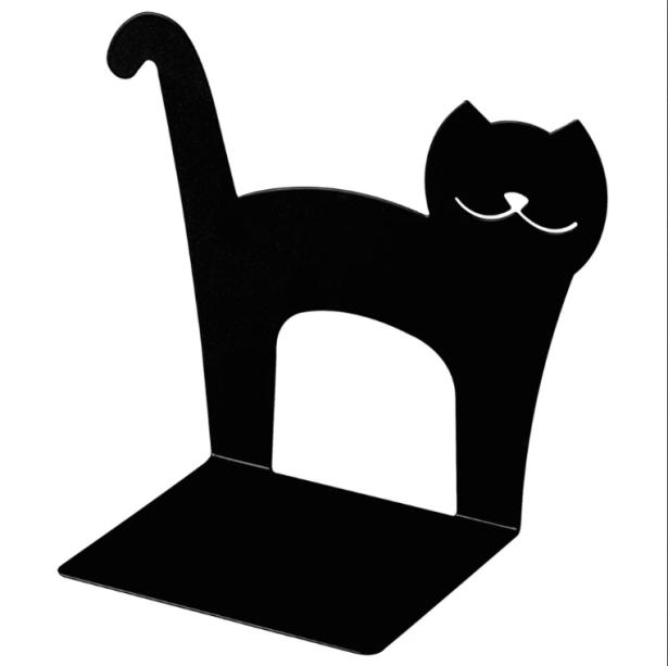 "<span style=""font-weight:400;"">Gato aparador de livros. </span><a href=""https://www.tokstok.com.br/aparador-de-livros-preto-gato/p""><span style=""font-weight:400;"">Tok&Stok</span></a>,<span style=""font-weight:400;"">R$ 22,90 </span>"