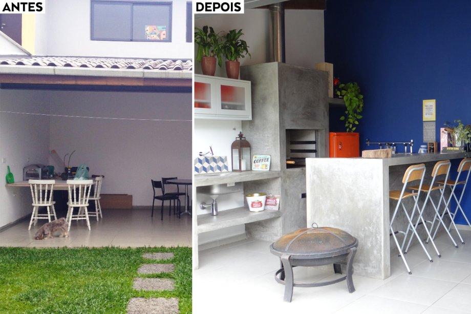 A churrasqueira de concreto (0,74 x 0,55 x 2,23 m) modelo Estilo é do Atacadão Lazer (Leroy Merlin, R$ 767,90). Os azulejos coloridos dão mais graça à decoração - eles são modelo Guell-1, da Colormix, e medem 20 x 20 cm (Leroy Merlin, R$ 9,69 cada).