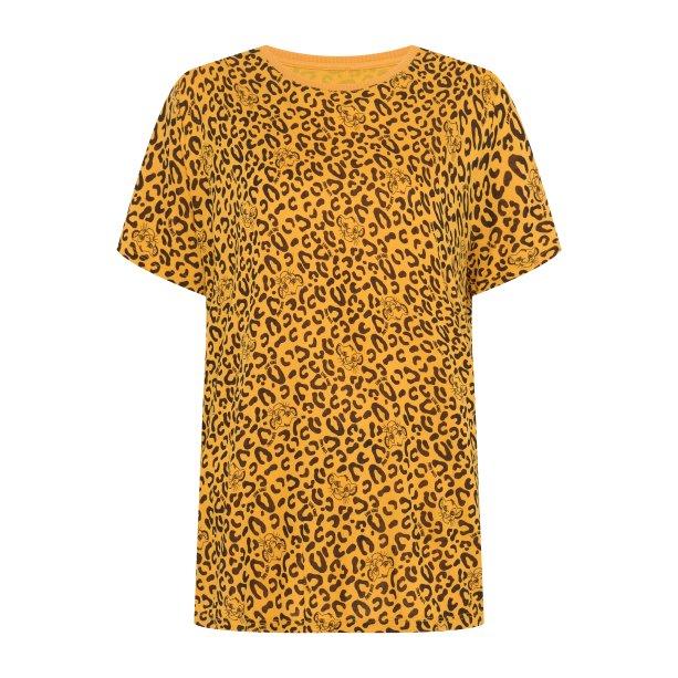 Blusa feminina estampada animal print Rei Leão, R$ 49,99 - C&A
