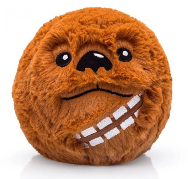 "Almofada Star Wars Chewbacca, de poliéster, com 14 cm de diâmetro. <a href=""https://loja.imaginarium.com.br/almofada-colecionavel-star-wars-chewbacca/p?idsku=14703&gclid=EAIaIQobChMI8q3DyaSC4gIVjAuRCh3oswifEAkYCCABEgIO1PD_BwE"" target=""_blank"" rel=""noopener"">Imaginarium</a>, R$ 49,90<h2 class=""produto-nome""></h2>"