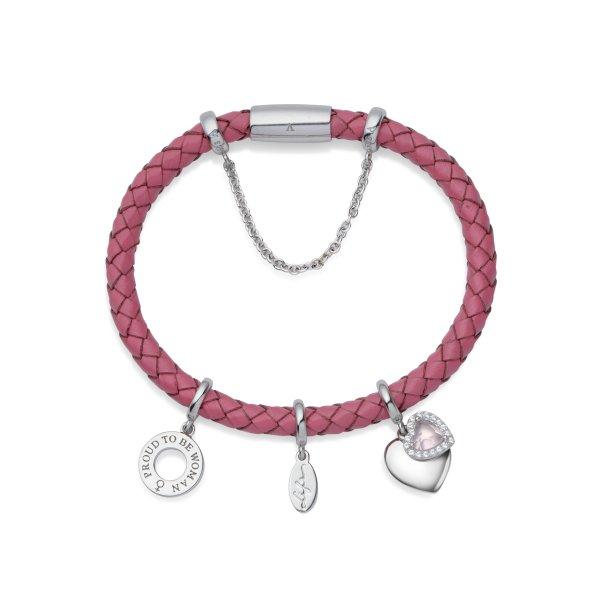 <span>Já o pink, <strong>Life Wishes Força</strong>, faz alusão ao poder feminino de amar e edificar.</span>