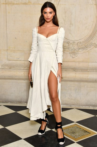 no desfile da <strong>Dior</strong>.