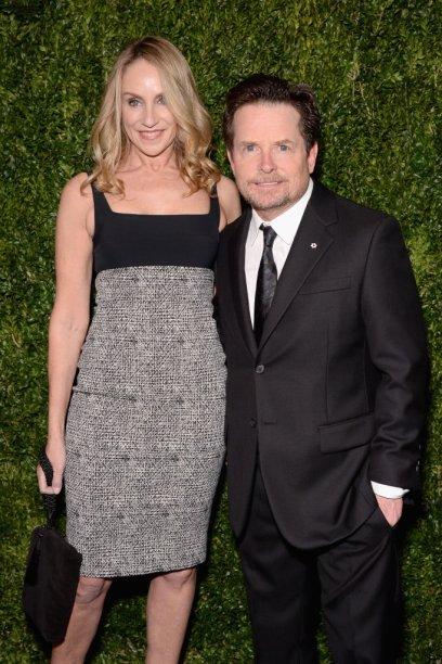 Tracy Pollan e Michael J. Fox