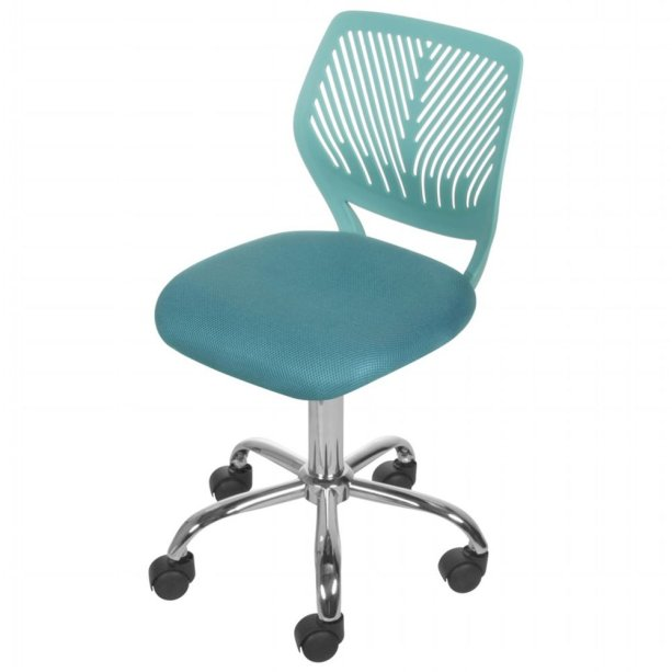 "<span style=""font-weight:400;"">Gummi Cadeira Home Office Teen. </span><a href=""https://www.tokstok.com.br/cadeira-home-office-teen-cromado-anis-gummi/p?idsku=304948""><span style=""font-weight:400;"">Tok&Stok</span></a><span style=""font-weight:400;"">, R$ 279,90</span>"